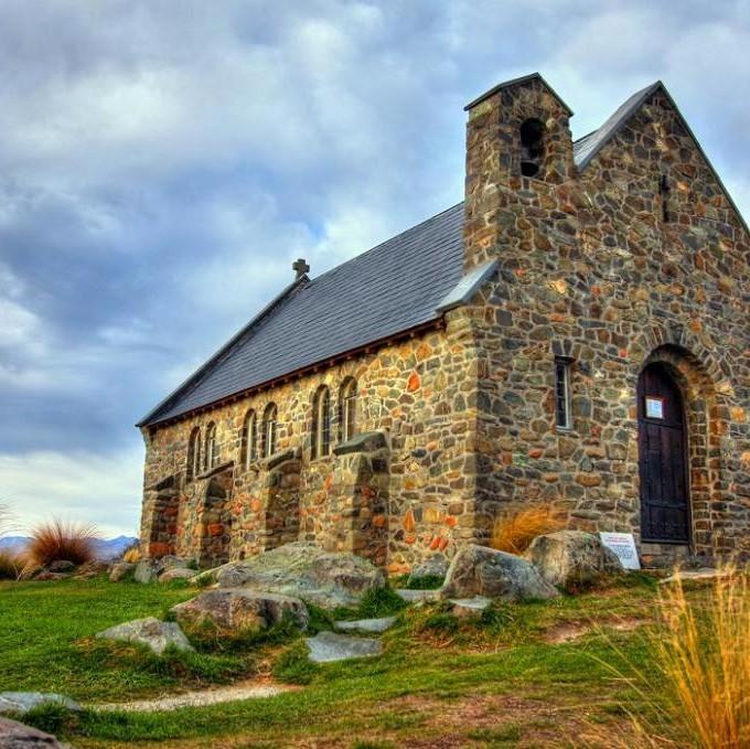 Новая Зеландия  Старинные_дома_Новой_Зеландии